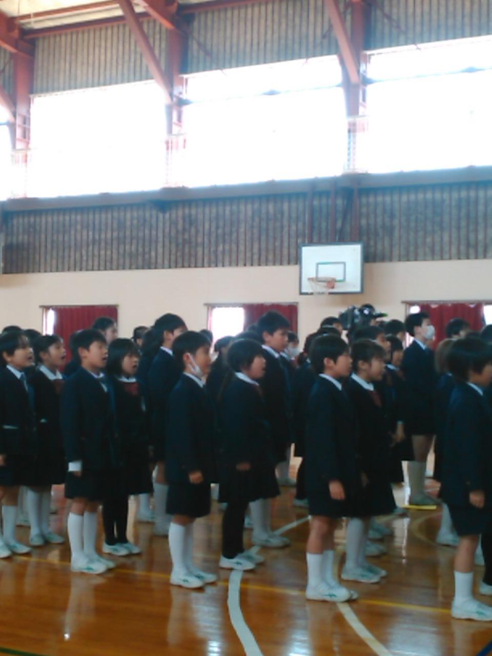 聖マリア学院小学校。3、4年生「...